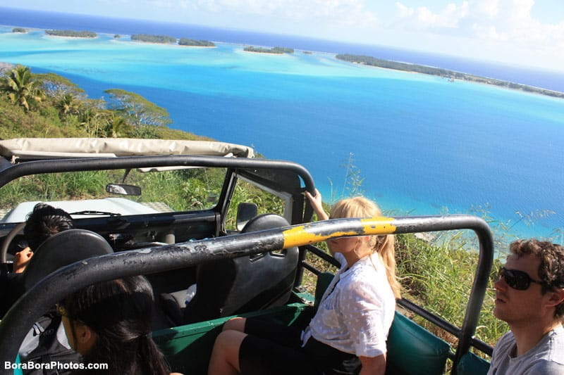 Off-road 4x4 Excursions in Bora Bora | boraboraphotos.com