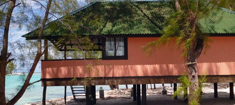 Mai Moana Island bungalow view | BoraBoraPhotos.com