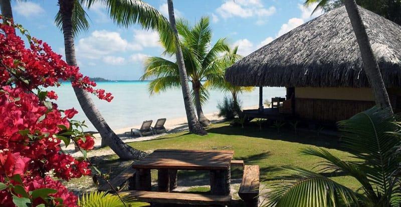Bora Bora Eden Beach bungalow | BoraBoraPhotos.com