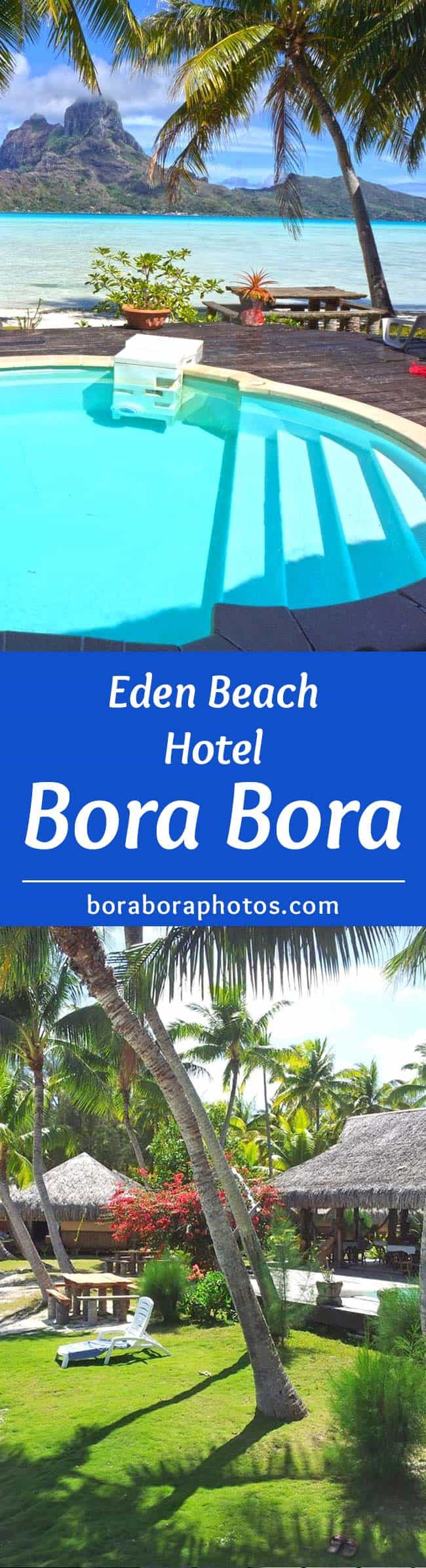 Eden Beach Hotel - Featuring 2 private beaches and spectacular views, this Bora Bora resort is located on a small coral island just a short boat ride from airport and the main island.