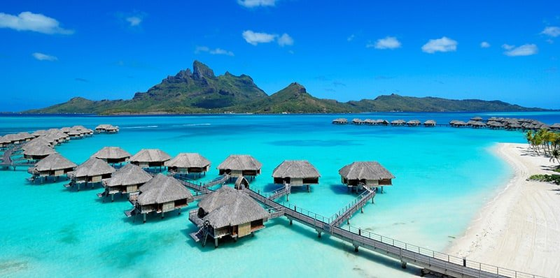 Four Seasons Resort Bora Bora with Mt Otemanu view