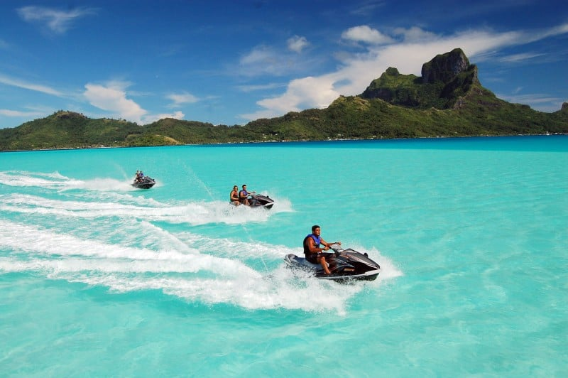 Jet Ski and Waverunner Adventures in Bora Bora | boraboraphotos.com