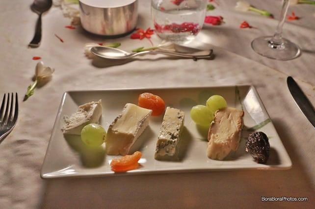 romantic dinner refined cheese platter | boraboraphotos.com
