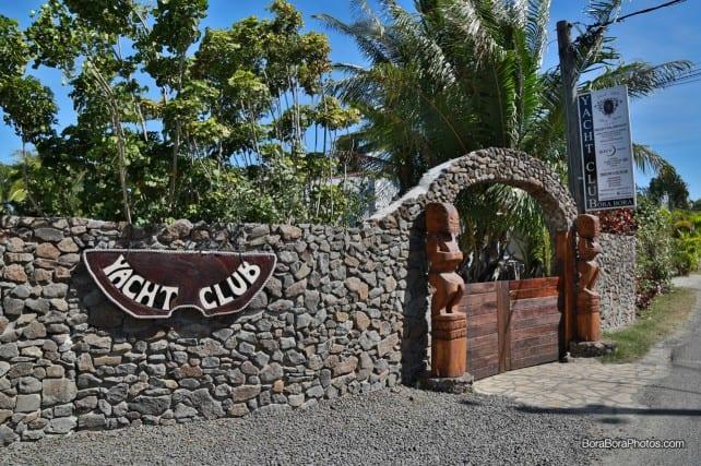 Bora Bora Yacht Club Restaurant | boraboraphotos.com