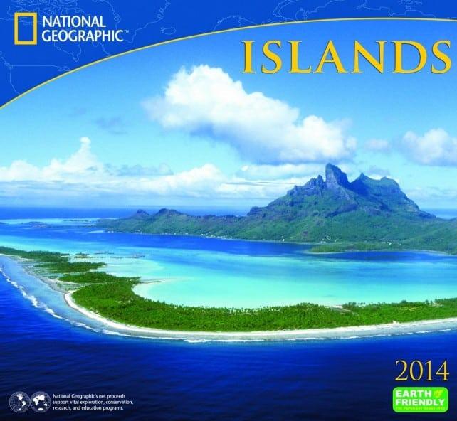 National Geographic Bora Bora Islands calendar | boraboraphotos.com