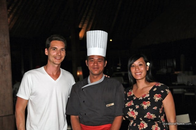 Dinner at Manu Tuki Restaurant | boraboraphotos.com