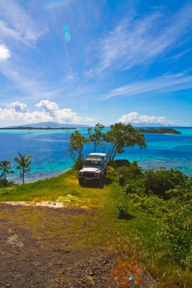 Bora Bora offroad 4x4 adventure tour | boraboraphotos.com