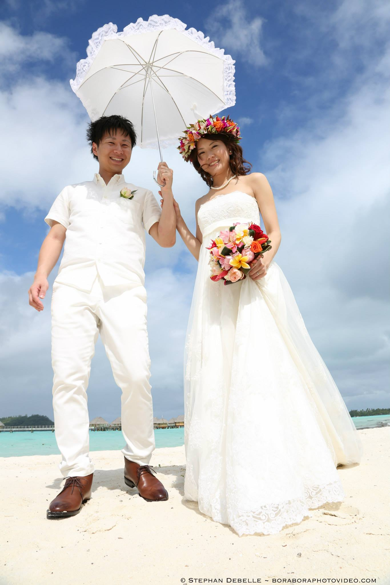 Stephan Debelle - Bora Bora wedding photographer | boraboraphotos.com
