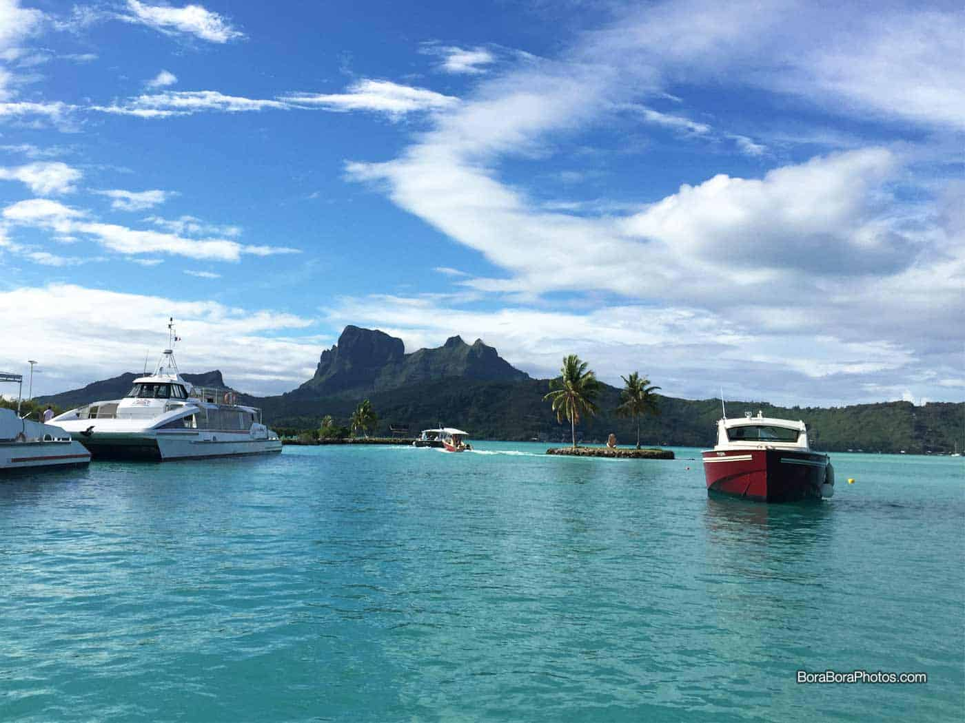 How to Get to Bora Bora Island in French Polynesia - Everything you want to know about traveling to and from Bora Bora.